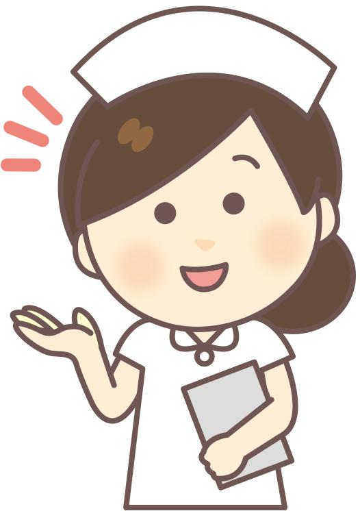 看護師の竹田です。