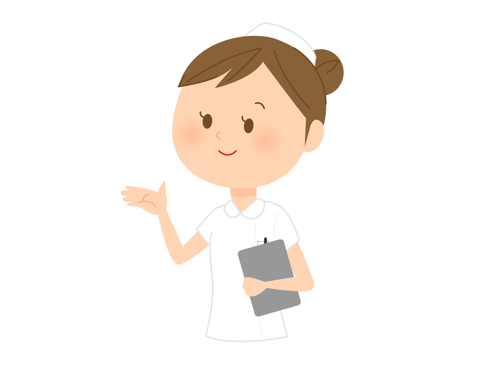 看護師の山崎です。