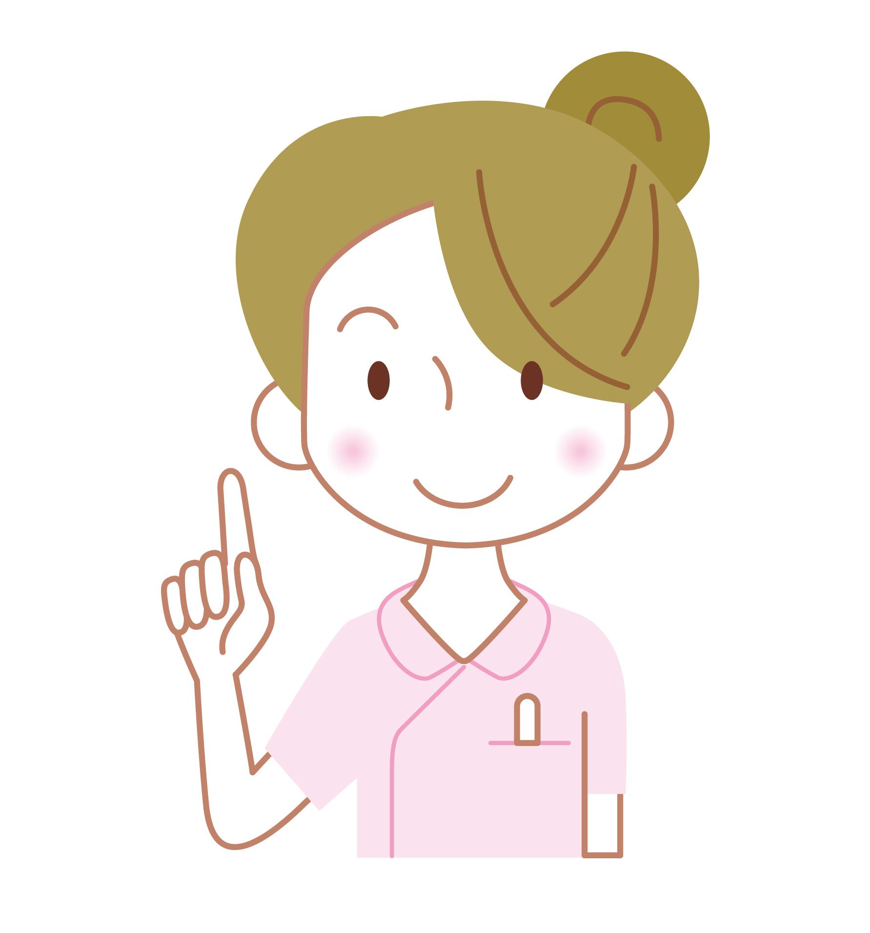 看護師の恵美子です。